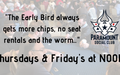 The $30 Early Bird Tournament