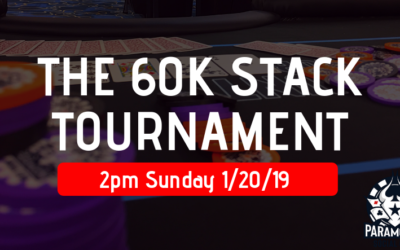 The 60K STACK Tournament