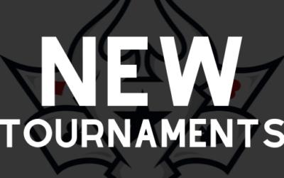New Tournaments ~OCT 2019