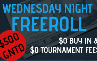 Wednesday Night Freeroll