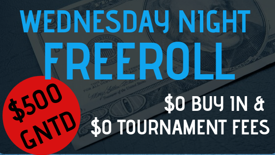 Wednesday Night Freeroll