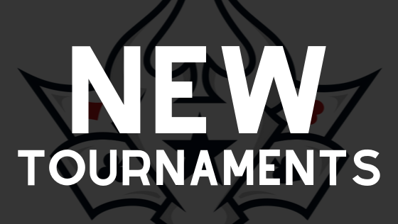 New Tournaments ~OCT 2019