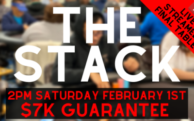 The STACK Tournament with $7K Guarantee!