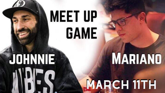 Meet UP Game with Johnnie Vibes & Mariano