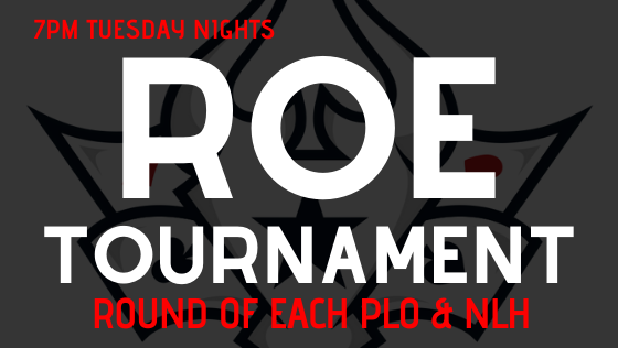 $20 Round of Each (ROE) Tournament