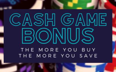 Cash Game Bonus Time