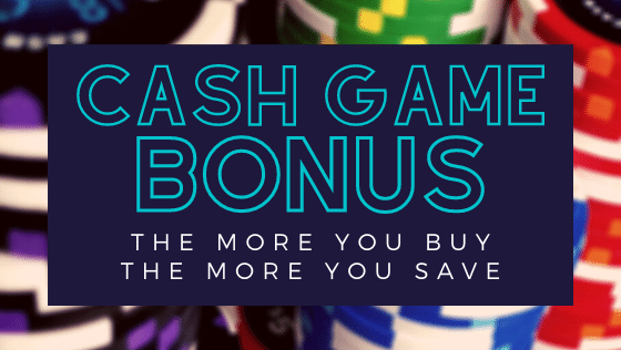 Cash Game Bonus Time