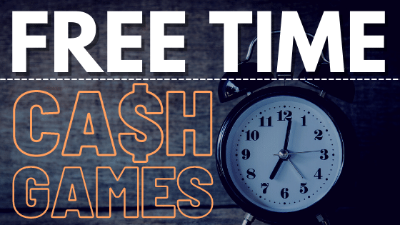 Cash Game Players Play for FREE